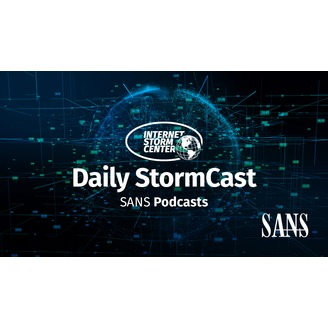 SANS Internet Storm Center Daily Network Security and Computer Security Podcast - album art
