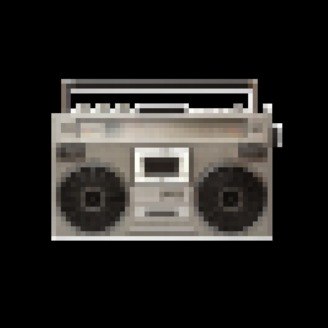 Pixelated Radio - album art